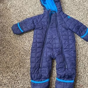 9-12 month boys snow suit